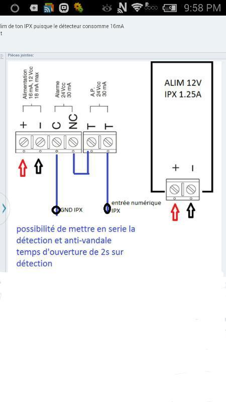 Célèbre Branchement detecteur de mouvement - Cartes Ethernet IPX800 - GCE  LG51