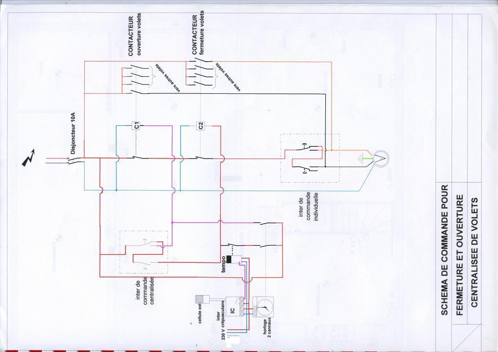 Les volets roulant filiaire sur une ipx avec centralisation cartes ethernet ipx800 gce - Centralisation volet roulant filaire ...